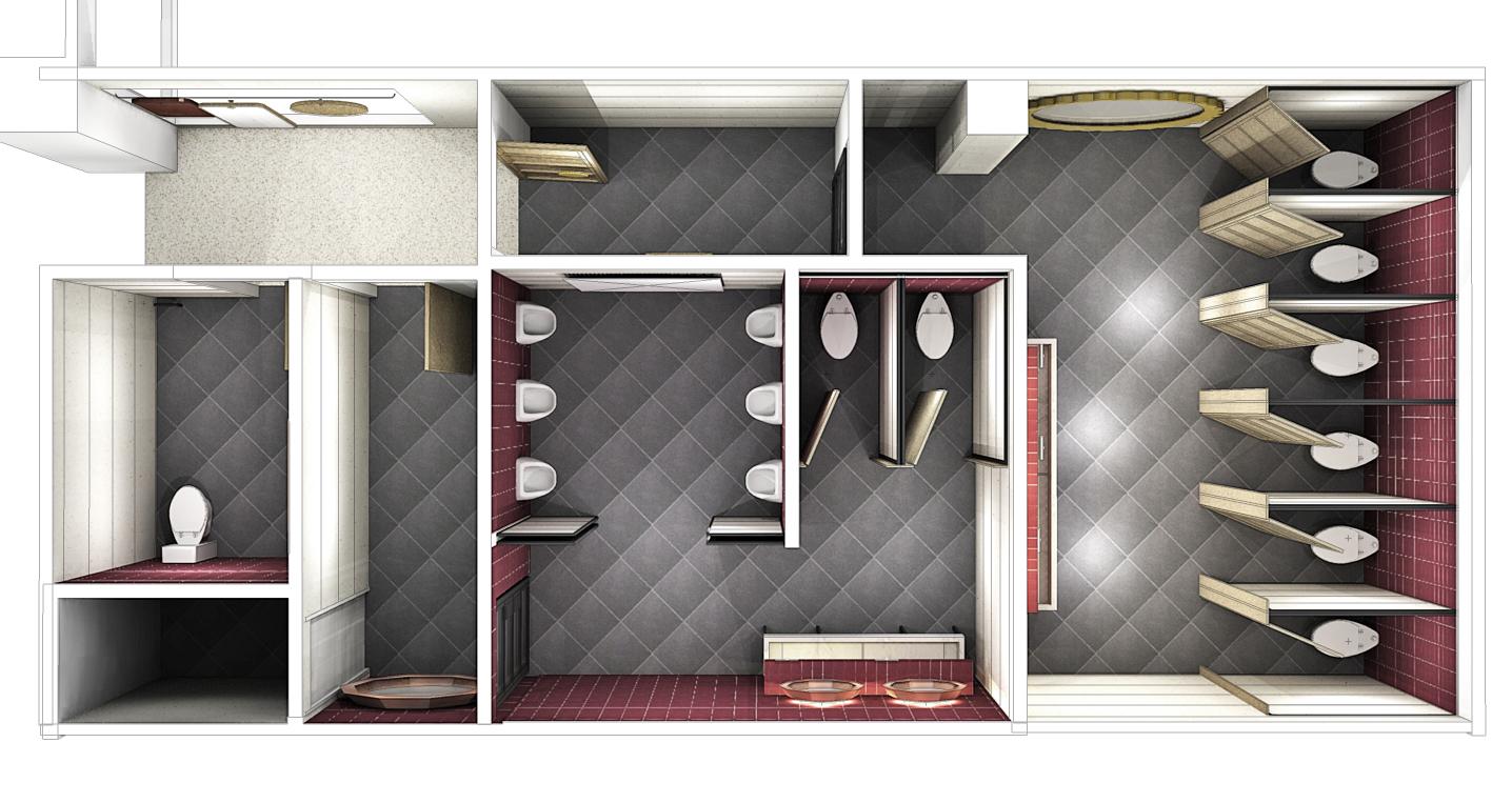 Brunetti, bathrooms design