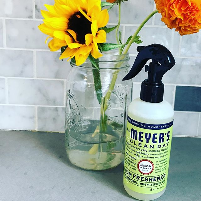 In Mrs. Meyers we trust. #mrsmeyers #aromatherapy #lemonverbena #nyc #nychousecleaning #cleanapartment #cleaningservice #cleanhouse #firsttierorganizingcleaning #luxury
