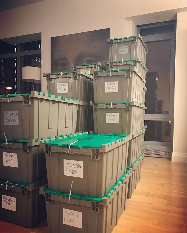 We also specialize in packing/unpacking to make your move as organized as it can be!