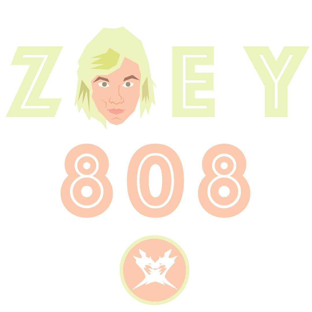 Zoey Polygonal Portrait