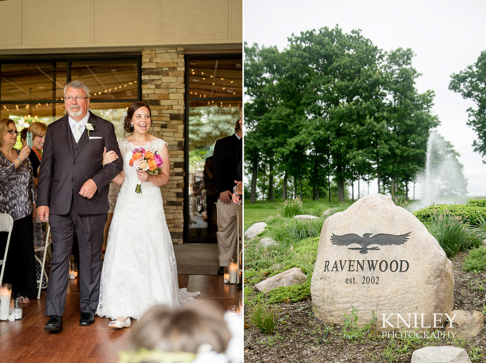 Ravenwood Golf Club wedding pictures - Rochester NY - Kniley Photography - Collage 9.jpg