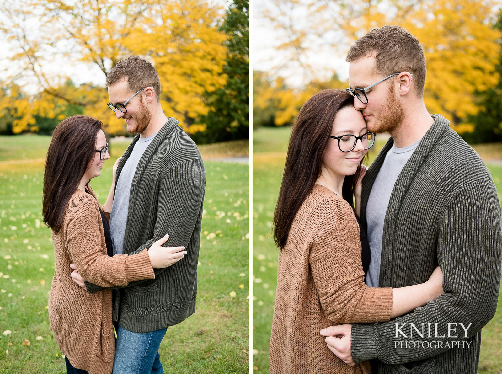 Highland Park Fall Engagement Session - Rochester NY - collage 9.jpg