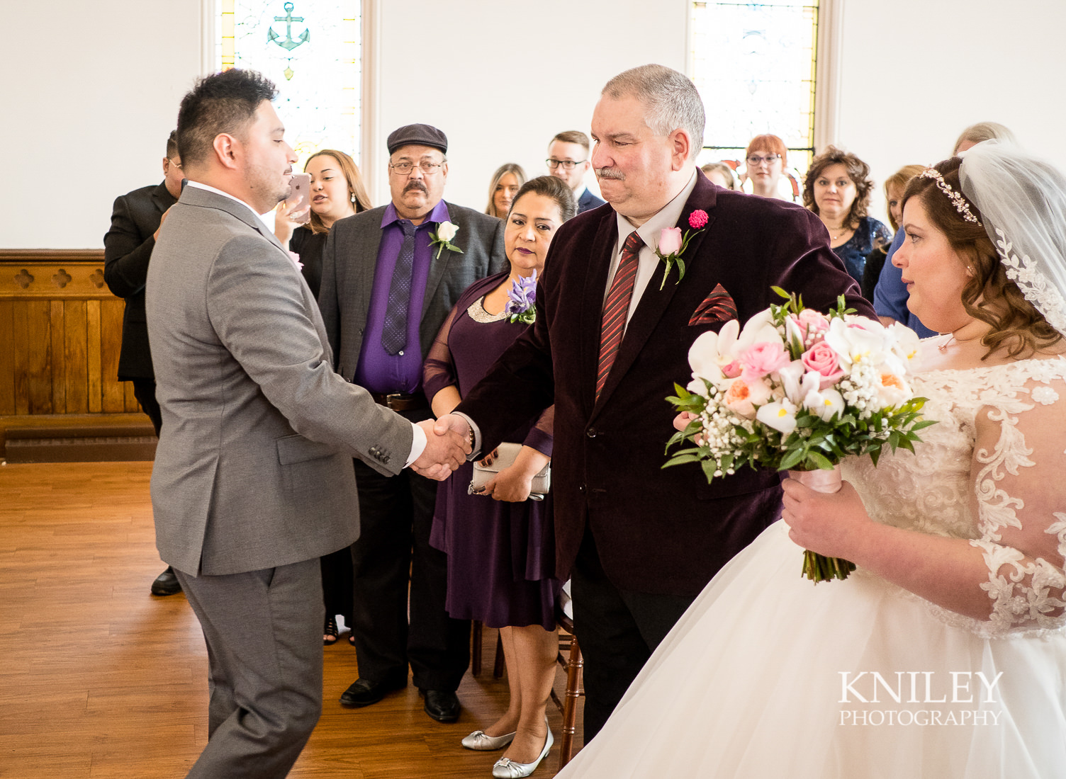 035 - Westminster Chapel - Rochester NY wedding photo - Kniley Photography.jpg