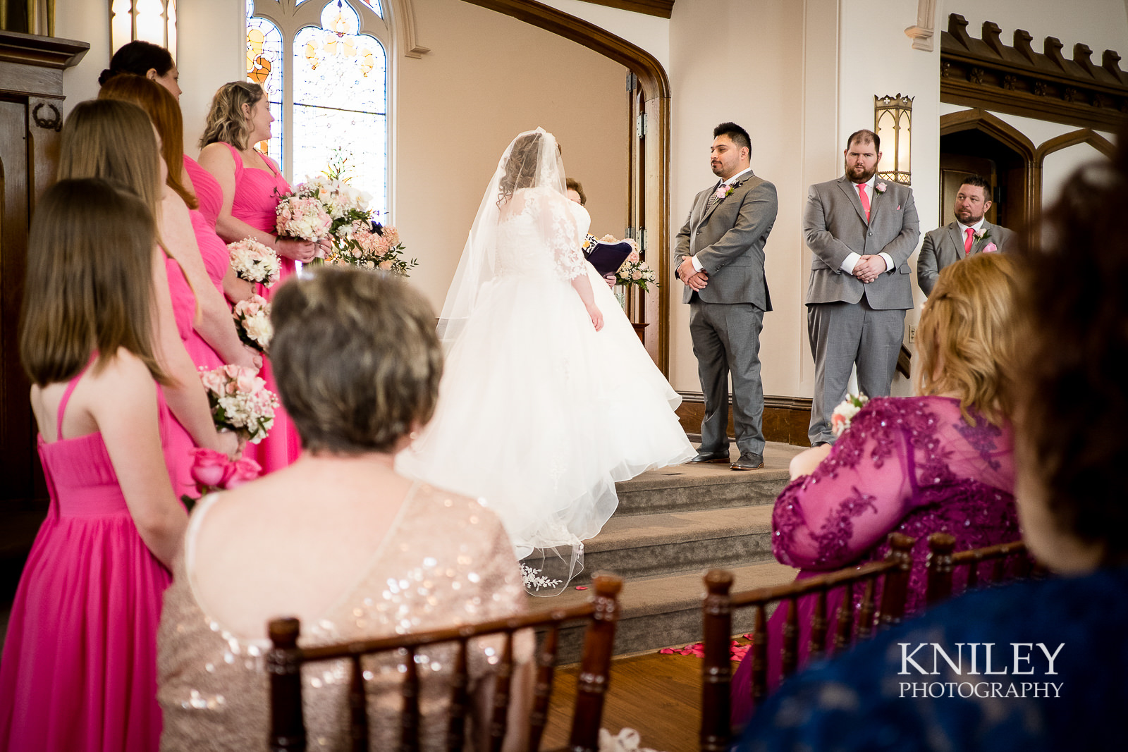 036 - Westminster Chapel - Rochester NY wedding photo - Kniley Photography.jpg