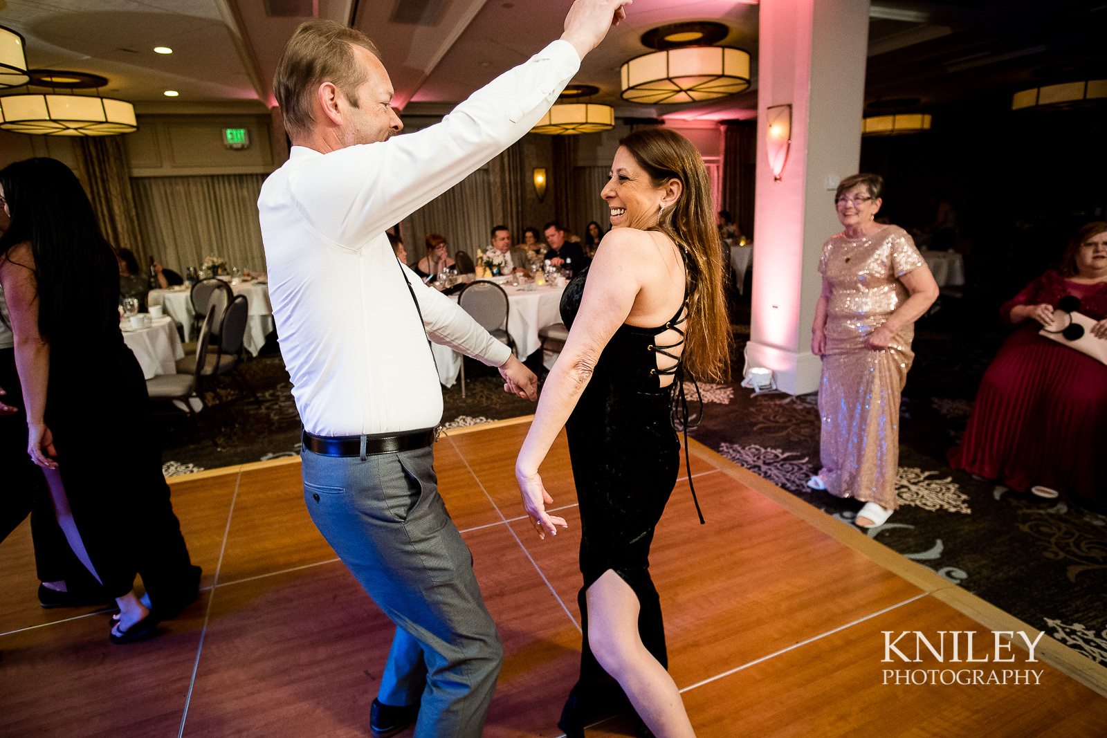 116 - Woodcliff Hotel - Rochester NY wedding photo - Kniley Photography.jpg