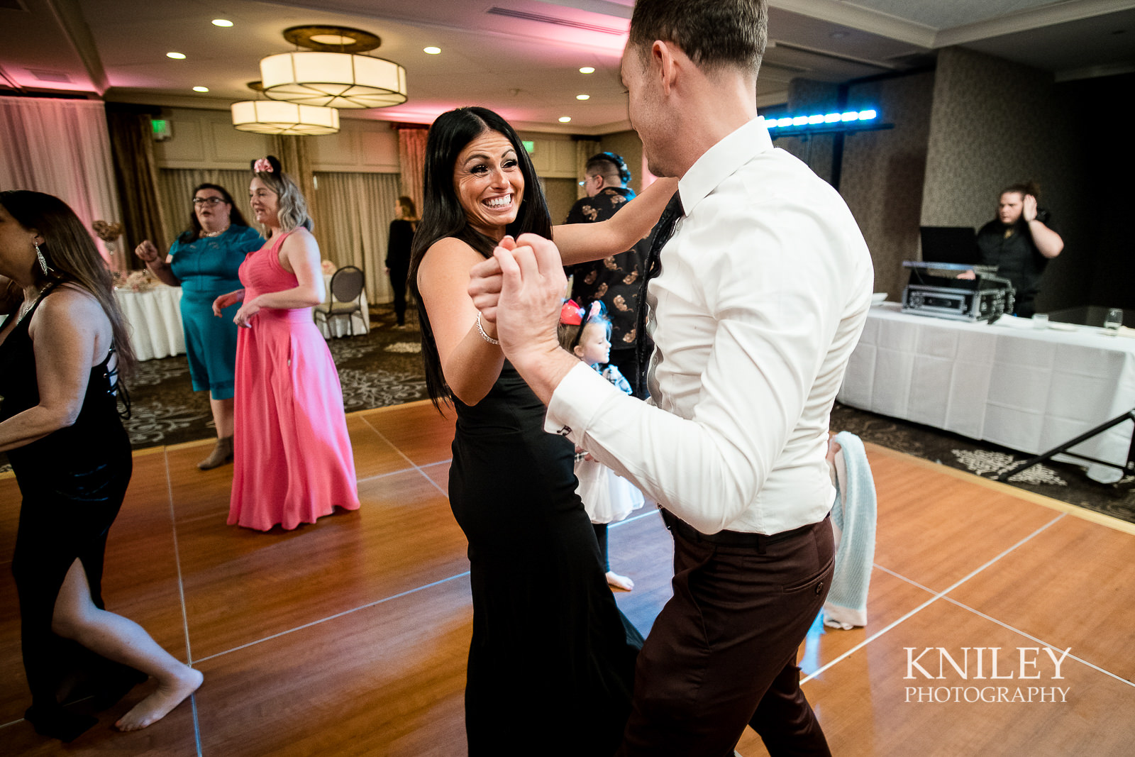 117 - Woodcliff Hotel - Rochester NY wedding photo - Kniley Photography.jpg
