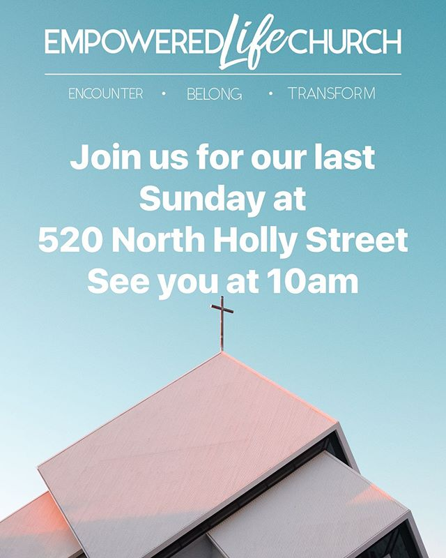 Just us this Sunday for our last service at 520 North Holly Street. Join us next week at 322 South Pacific Hwy in Talent! God is so good! #lastsunday#newbuildingcomingsoon#Godisgood