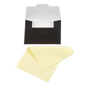 Example of a Sunshine jewelry polishing cloth.
