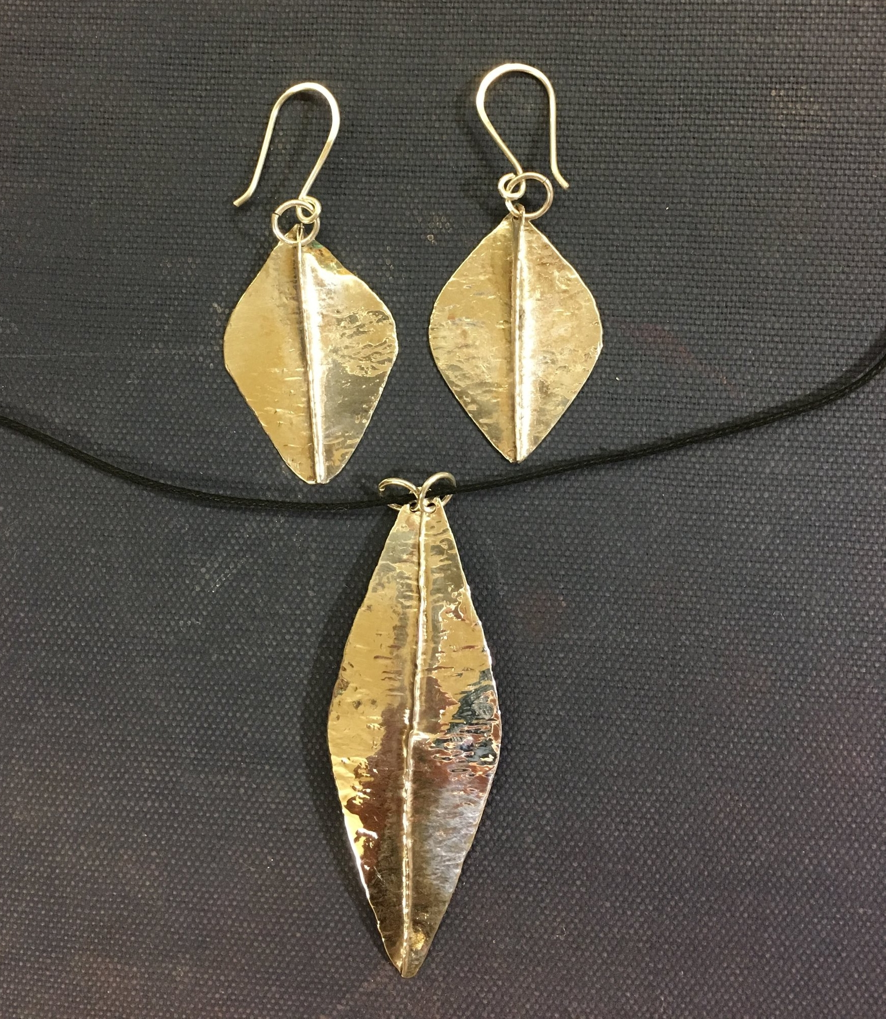 silver fold forming jewelry