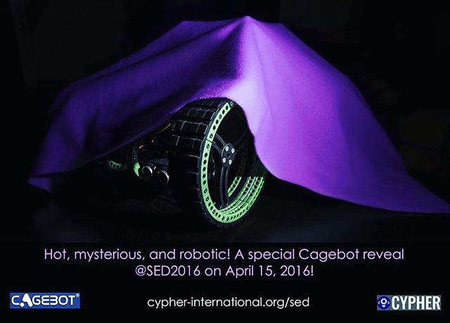 #flashforwardfriday to SED 2016 for an ultimate Cagebot reveal #myknowledgecounts