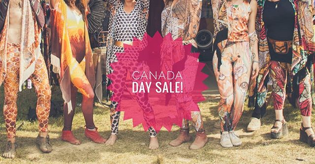 Did you know all of our clothing is designed AND made in Canada!? We're very grateful to live, work and play in this beautiful country and are celebrating Canada Day with a store wide sale!  Head on over to www.sotight.ca to get in on the sale action ❤️🍁
