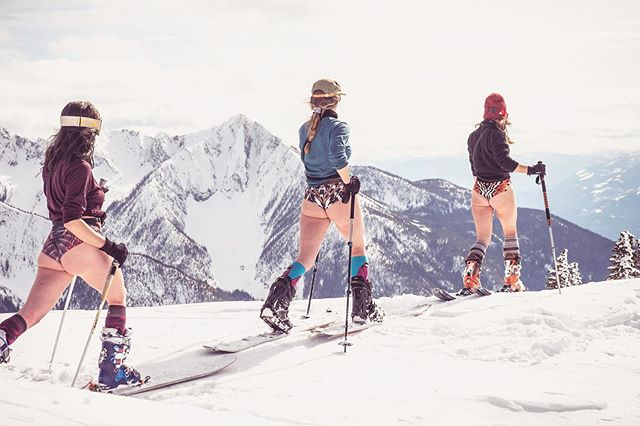 Undies for the alpine! (Or where ever you choose...) coming soon to buns near you!