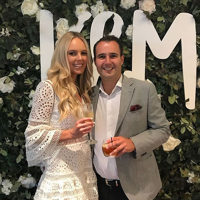 A gorgeous evening celebrating Katie & Matt's engagement. Thanks for having us team! x🥂 #boutiquebackdrops #aucklandweddings #aucklandflowerwallhire #aucklandflowerwall