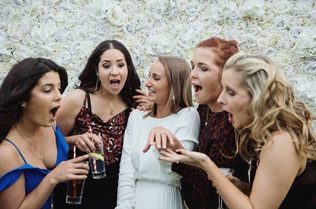 O-M-G! Who's headed to @nzbrideandgroom show this weekend? If you've just become engaged it's the perfect chance to shop all the options for your upcoming wedding 💒  grab your girlfriends /bridesmaids/fiancé - we'll see you there 🌸 - 📸: @belllhenry 😘 - #nzflowerwall #boutiquebackdrops #whitewall #aucklandflowerwall #nzweddings #engaged #engagedaf #bridesmaids #bridetobe #aucklandweddings #nzbrideandgroom
