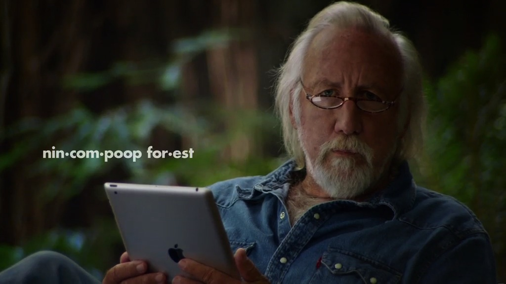 """Lee Clow """"Nincompoop Forest""""  • Media Arts Lab"""