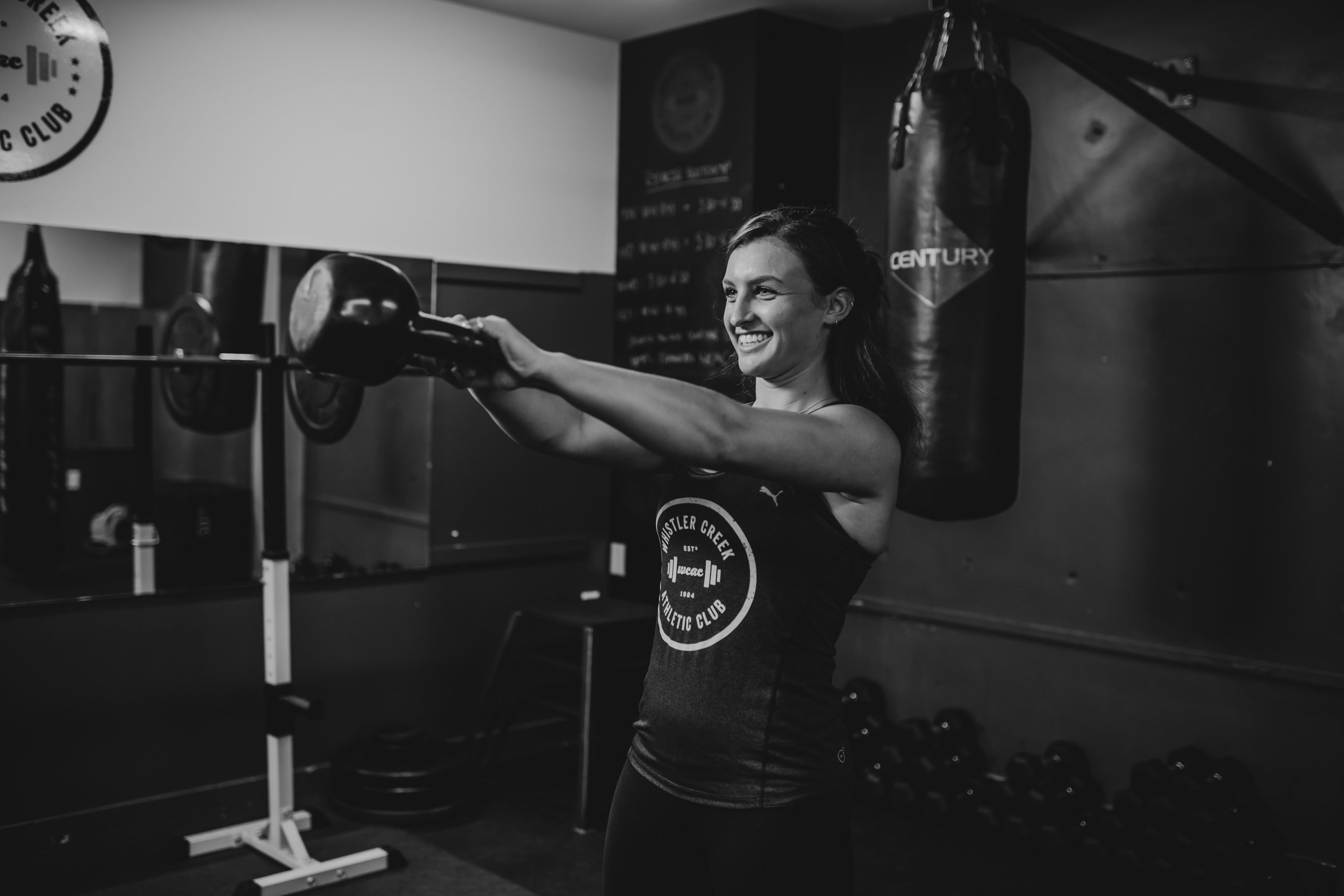 Robyn Carney personal trainer whistler gym