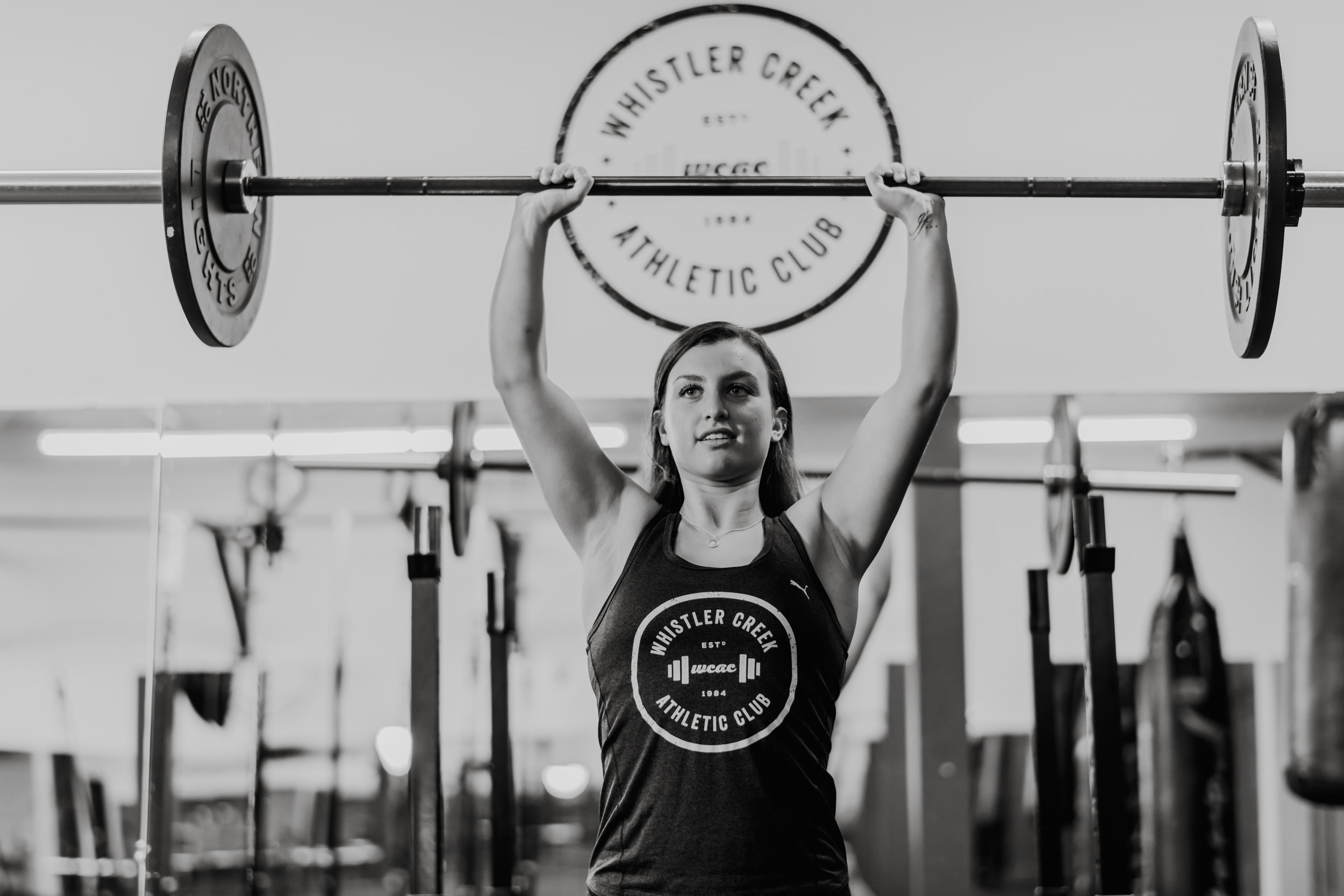 Robyn Carney Personal Trainer weight lifting Whistler Gym