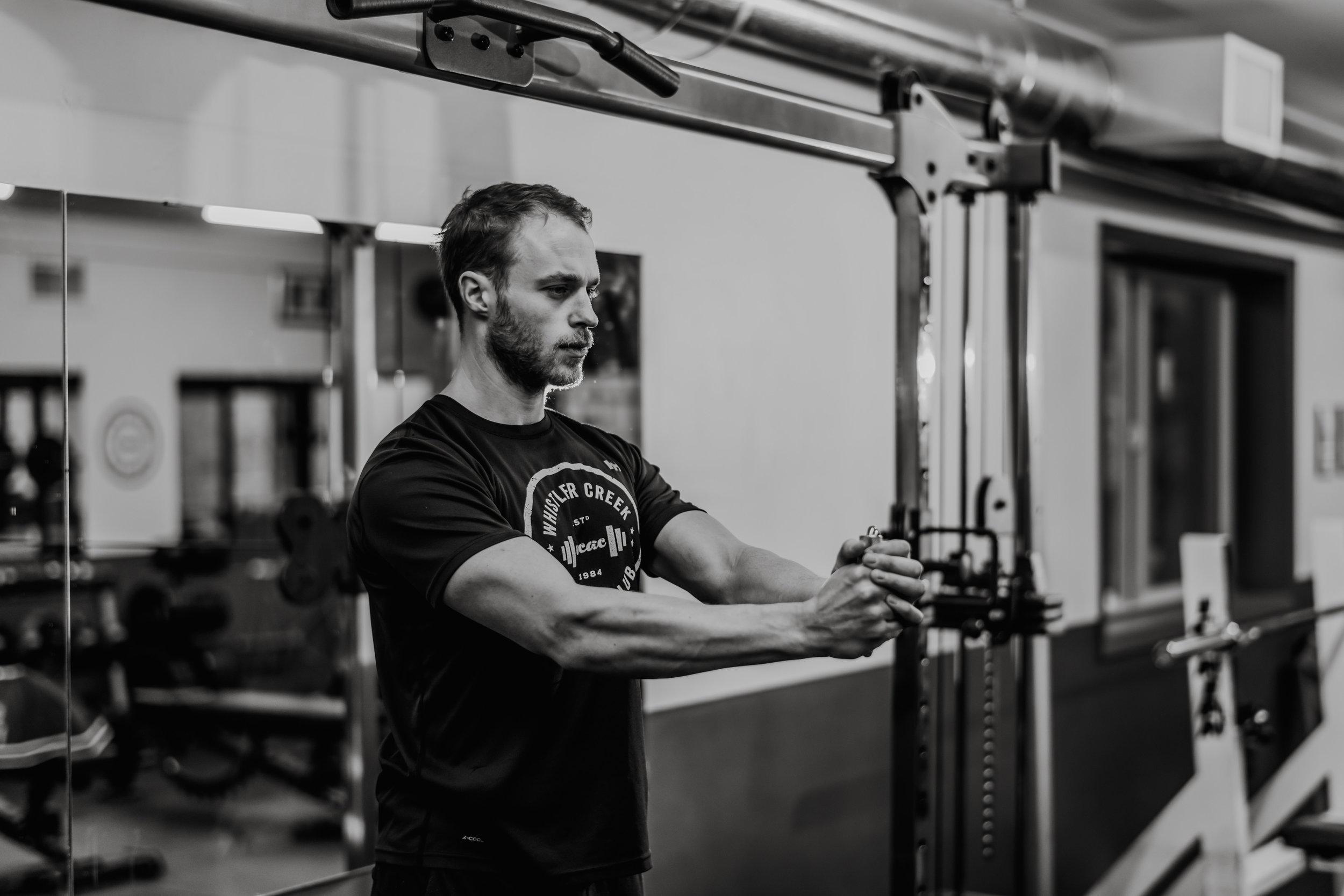 8 week challenge whistler gym Jack Murray