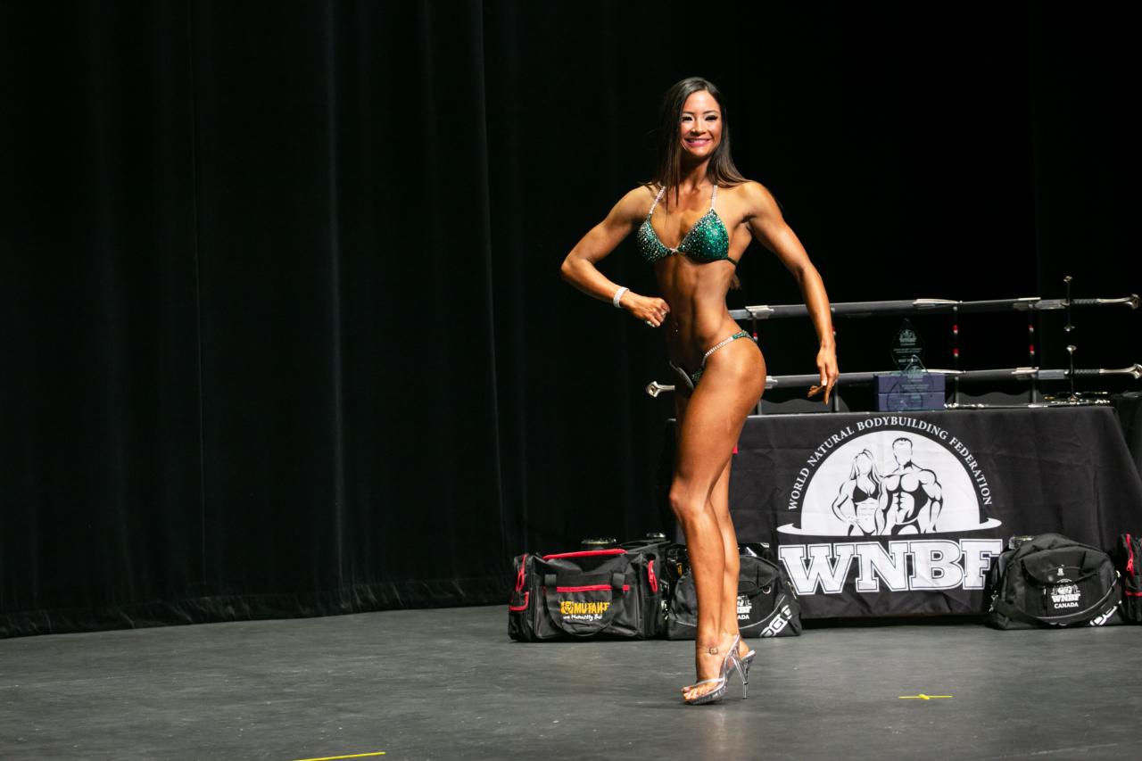 bodybuilding bikini pro wnbf canada