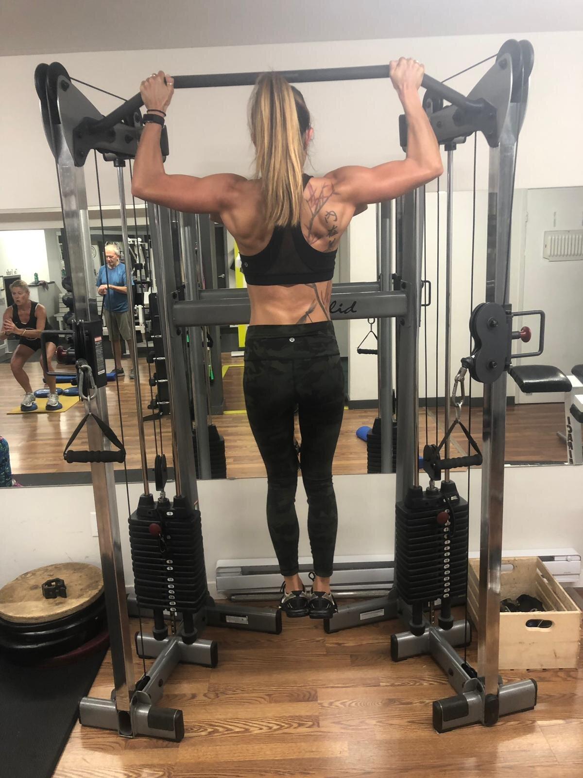 Michelle Elliott bodybuilding whistler creek athletic club