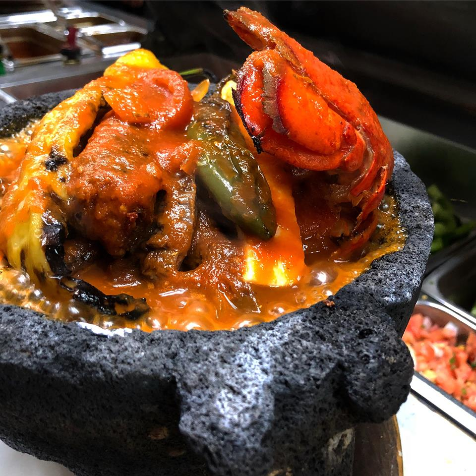 Surf & Turf Molcajete (available Sundays)