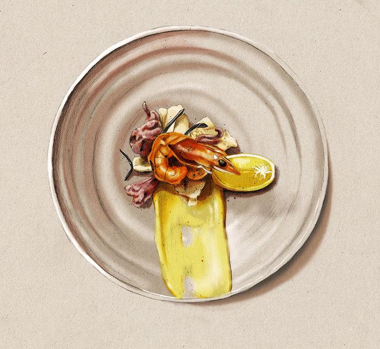 Kelly Thompson food illustration blog