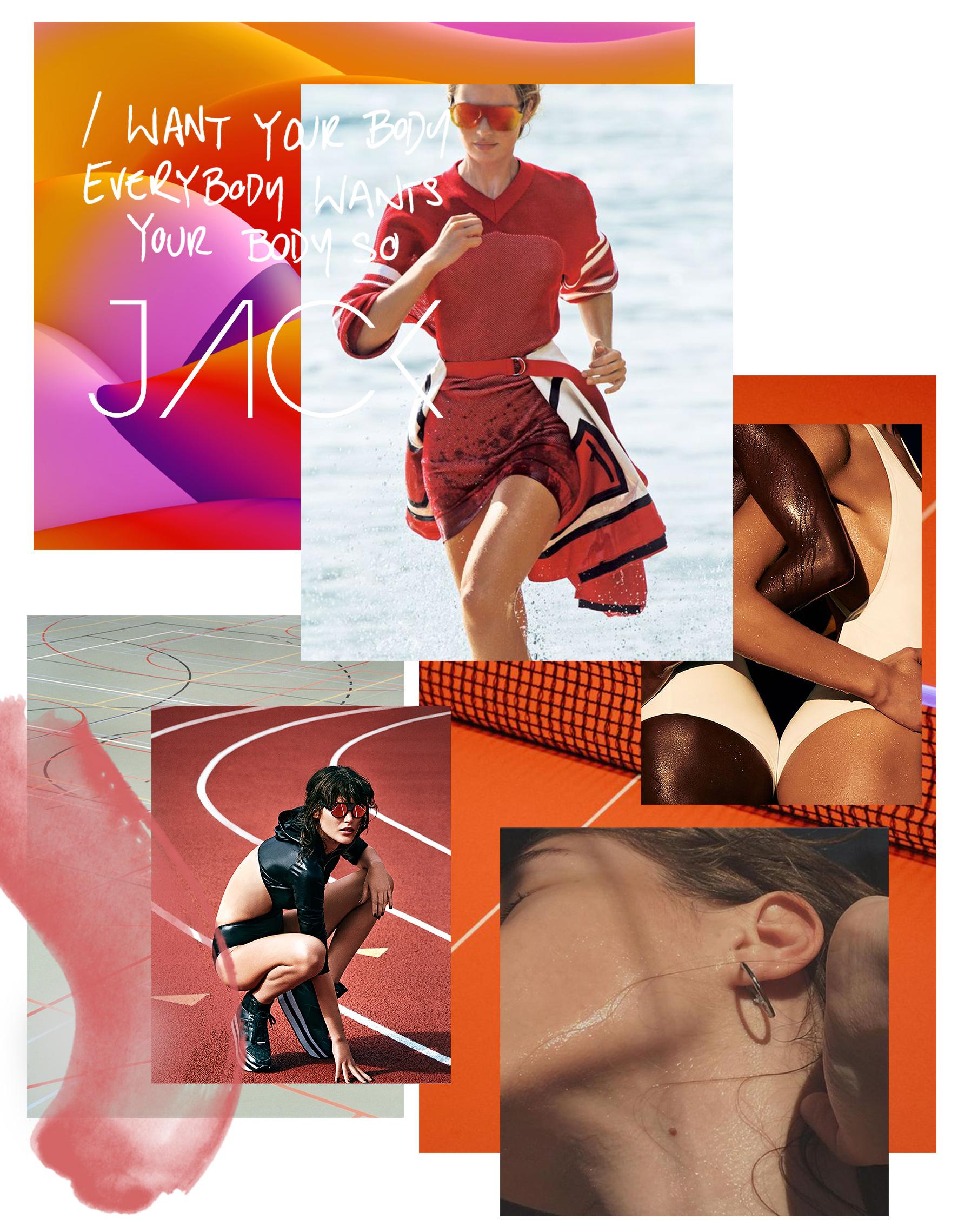 Swimsuit photography - Julia Noni /  Digital art - Velvet Spectrum /  Active photography - Sebastian Kim, James Macari