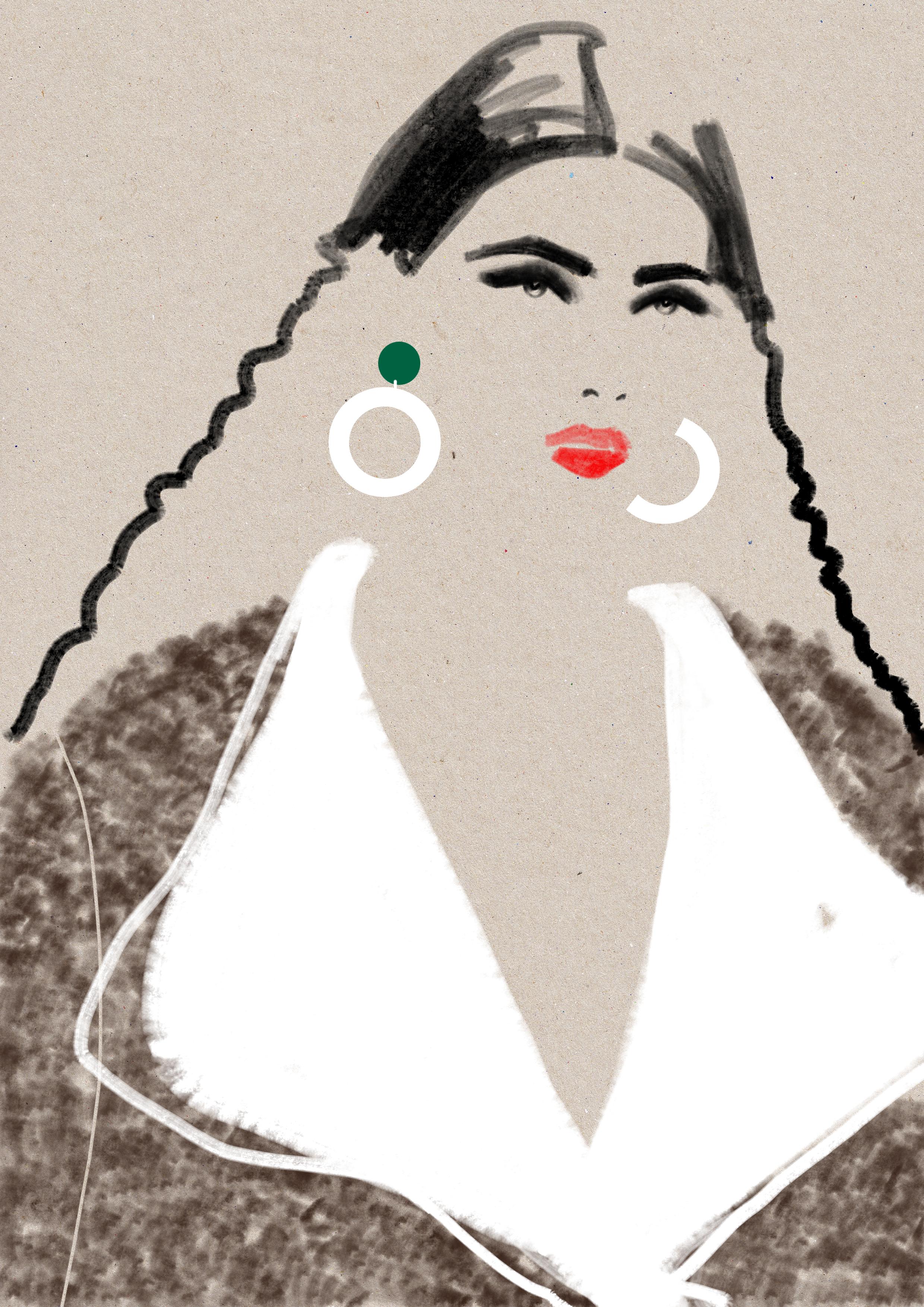Lucilla Gray - Sketch Kelly Thompson