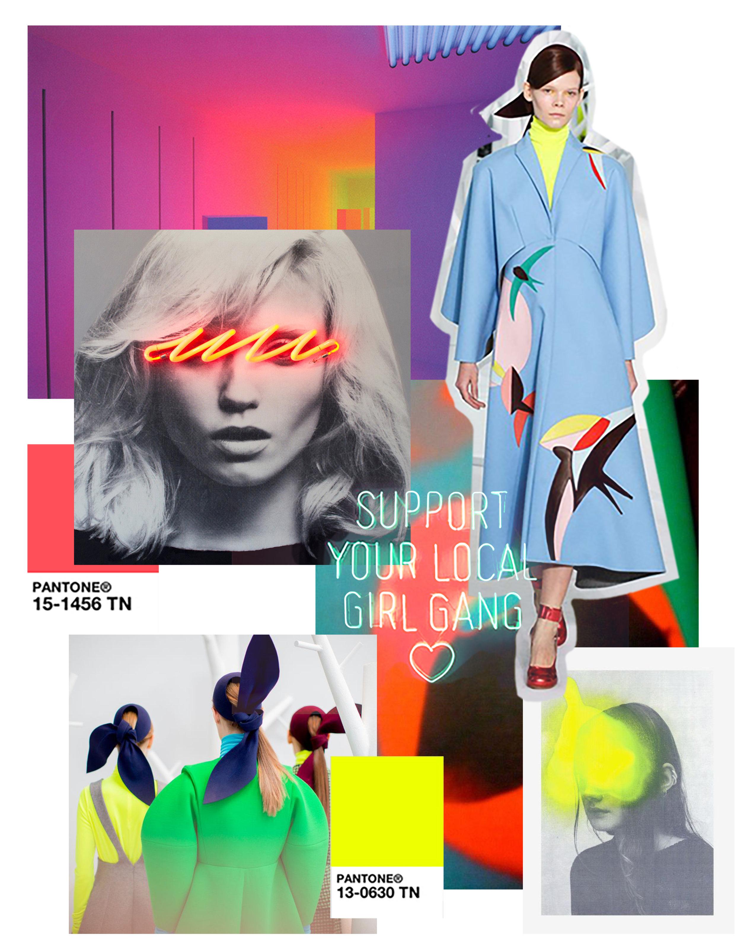 Neon room -Carlos Cruz-Diez    Text - Nick Thomm    Fashion - Delpozo Fall 15    Portrait - Javier Martin    Banner photo - Javier Martin