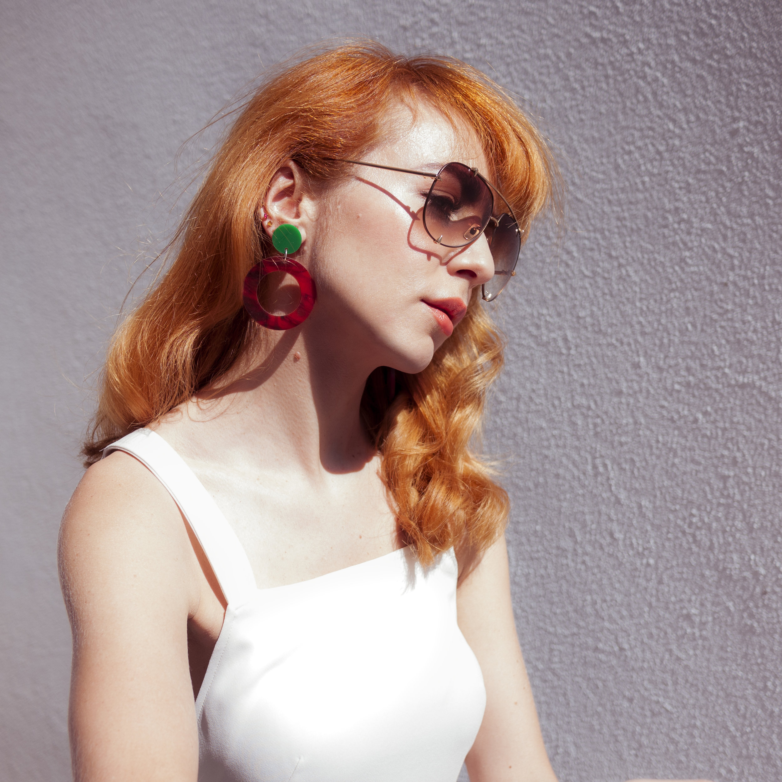 Kelly Thompson blog Melbourne Lucilla Gray hoop earrings www.kellythompsoncreative.com