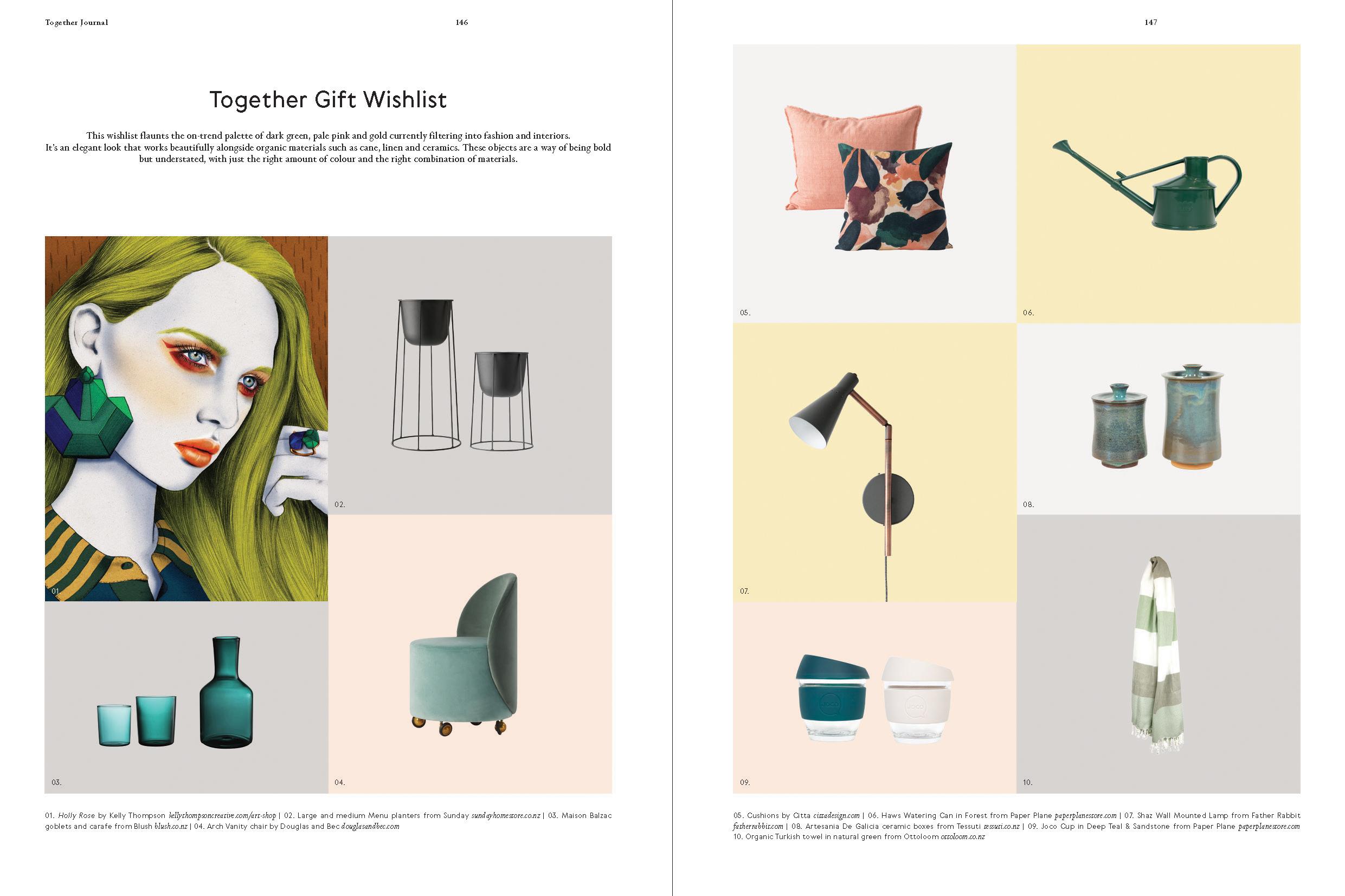 Kelly Thompson Illustration Together Magazine www.kellythompsoncreative.com
