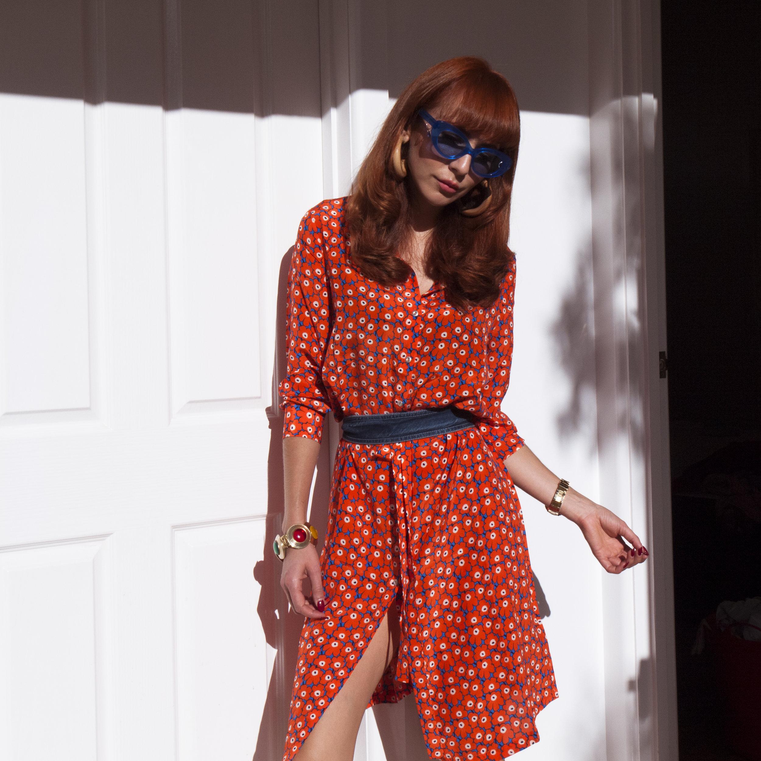 Kelly Thompson blog Marimekko stripe Melbourne Blogger