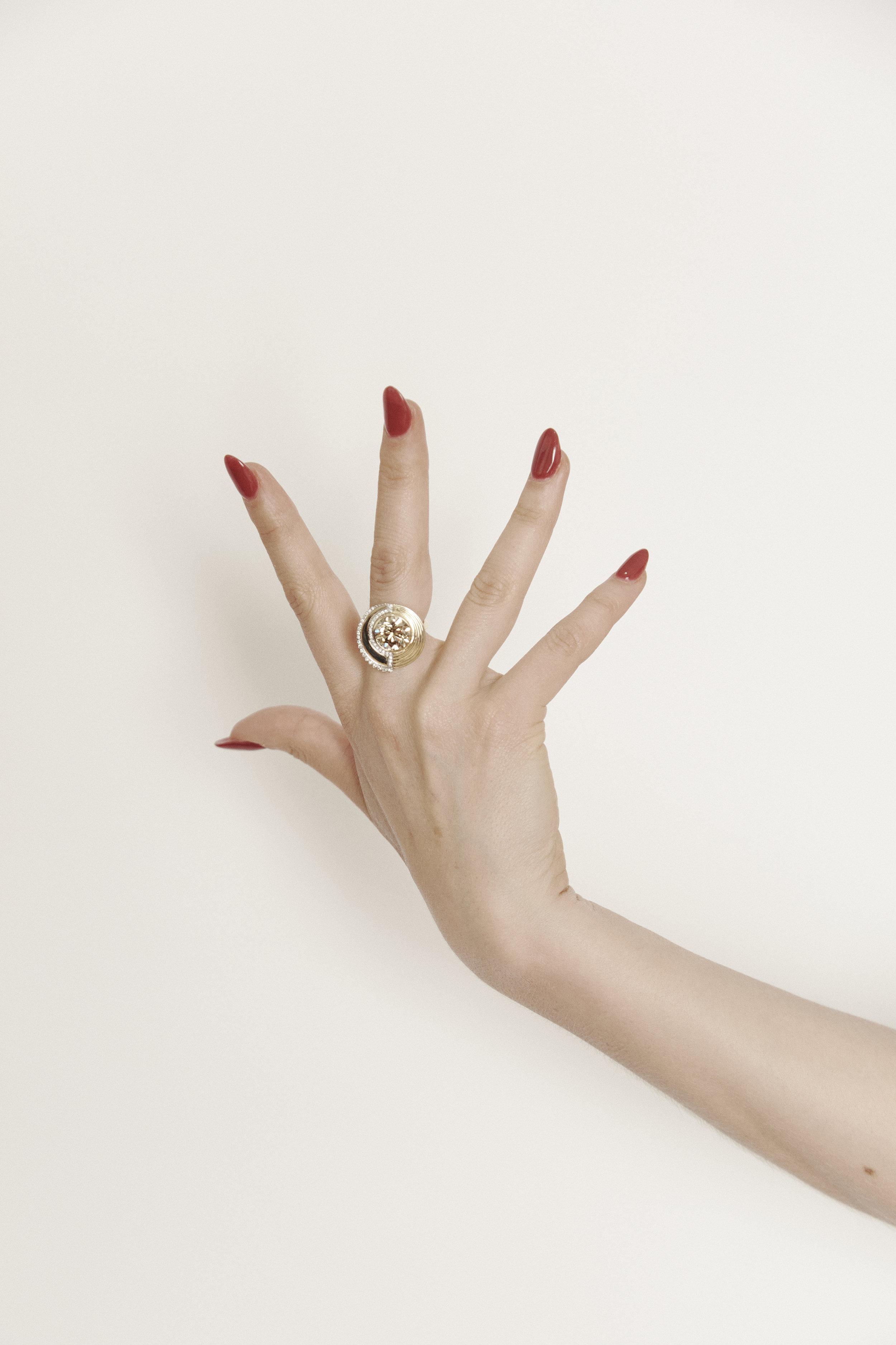 Kelly Thompson Walker and Hall jewellery