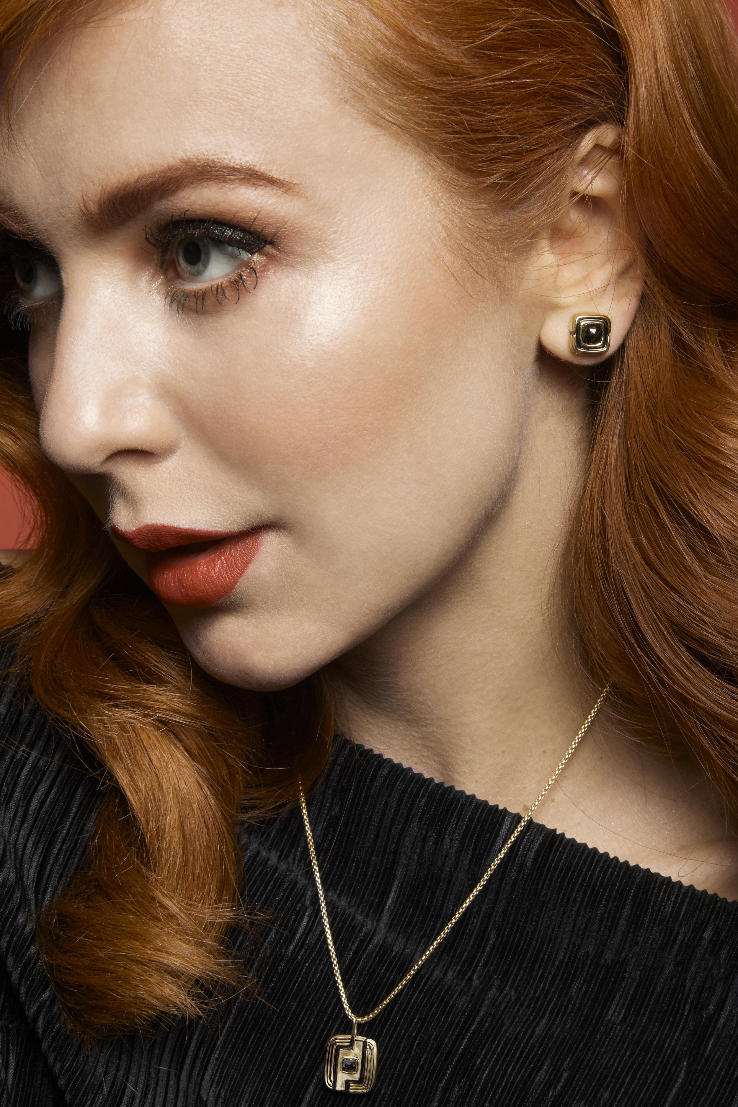 Kelly Thompson Walker & Hall earrings