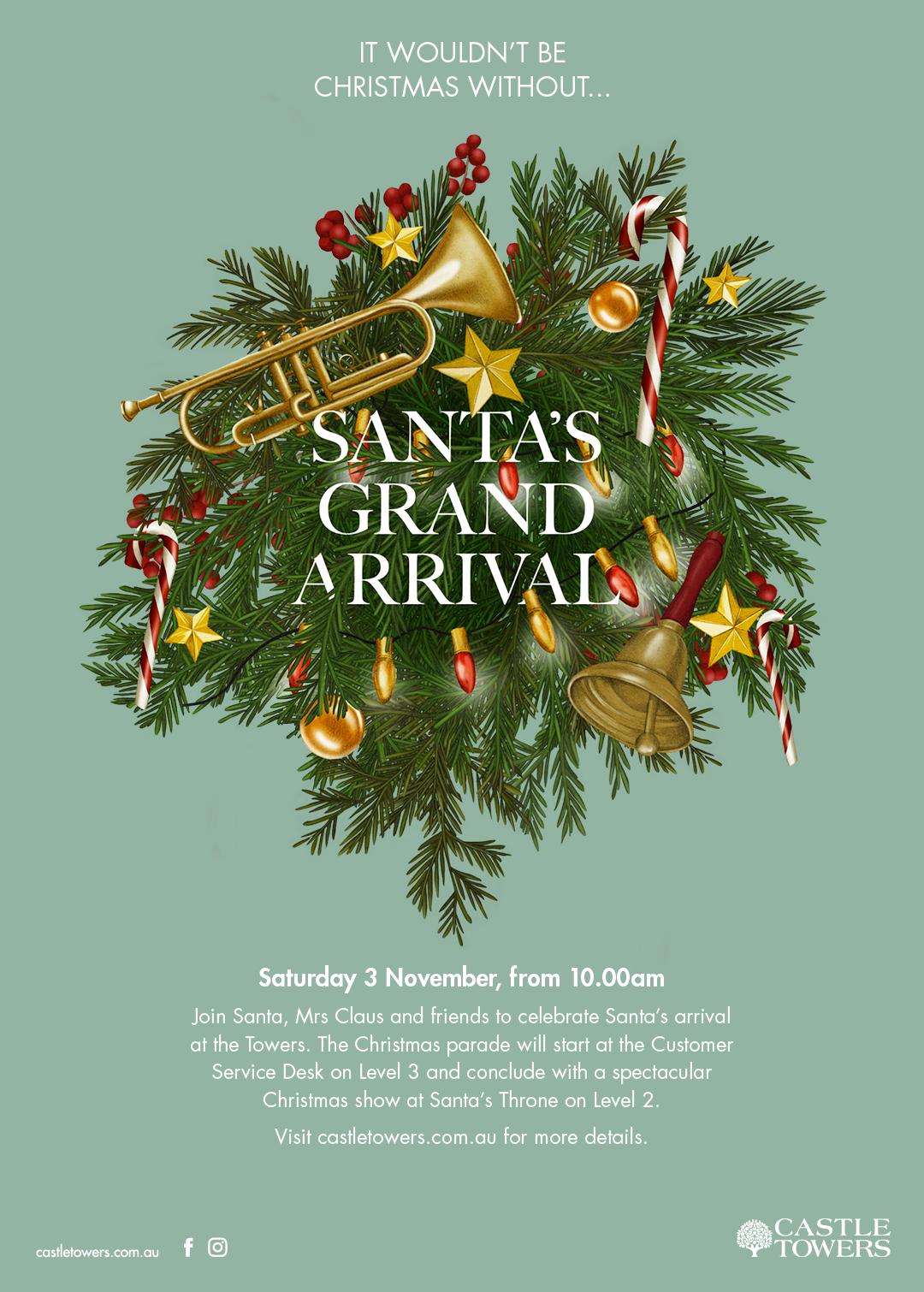 Kelly Thompson botanical Illustration Christmas wreaths Eastland and Castle Towers