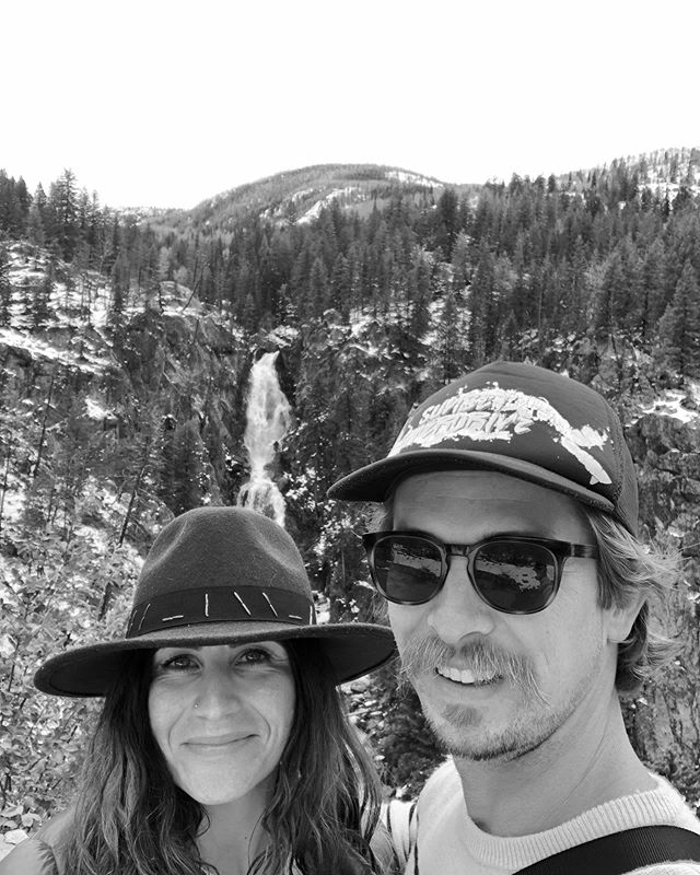 In our element....waterfalls followed by hot springs...and moose sightings 🙌  #steamboatsprings #havecheeseboardwilltravel #travelcolorado #fishcreekfalls