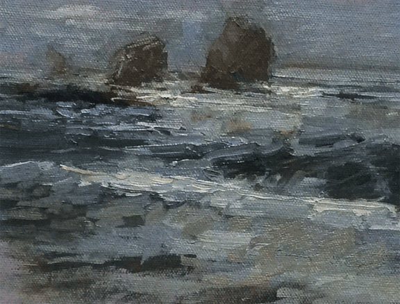 """moody cold - 6""""x8"""""""