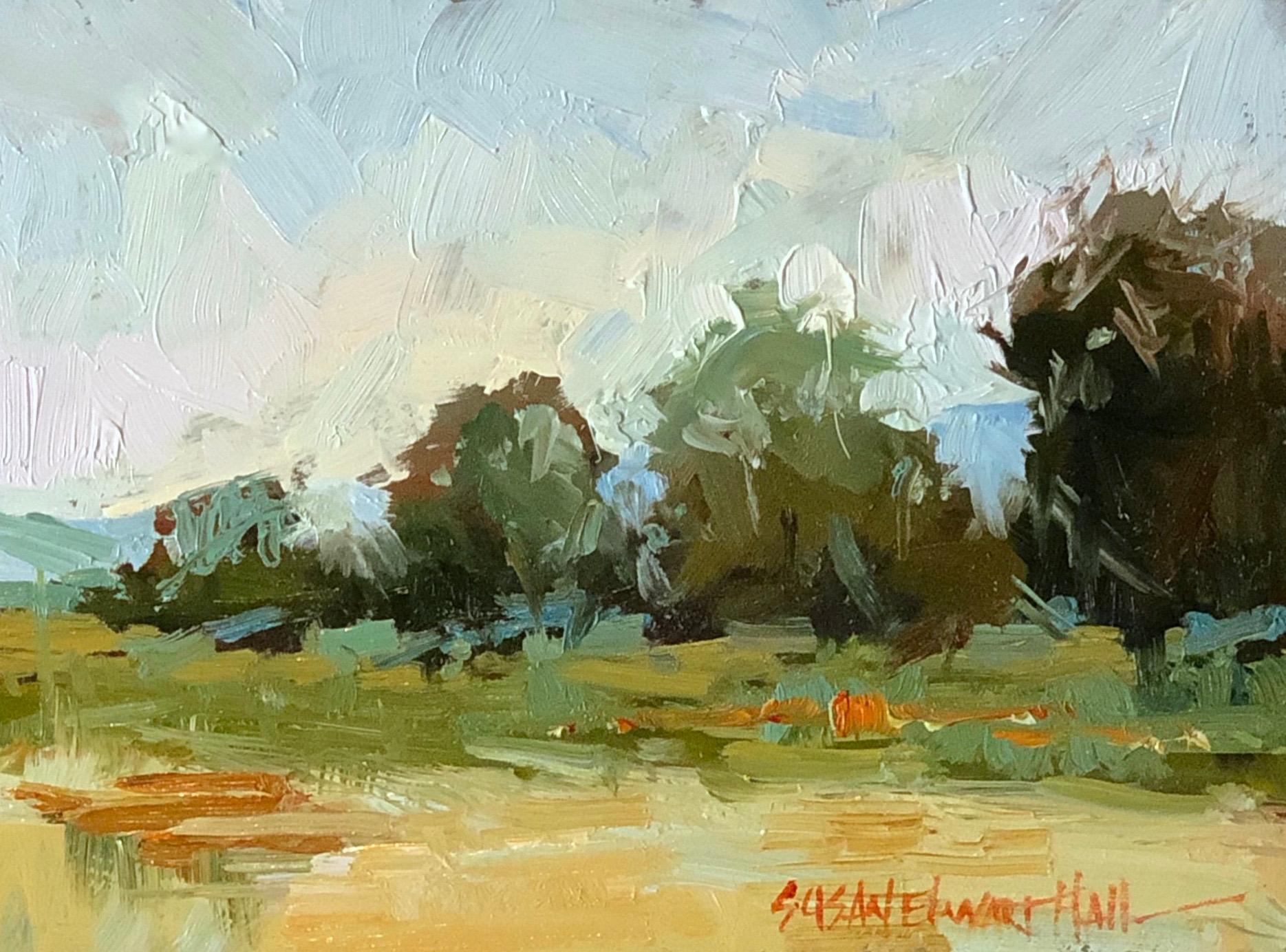 tree haystacks