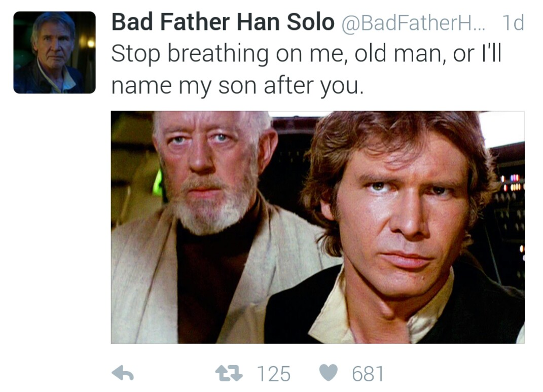 The only thing worse than Emo Kylo Ren.