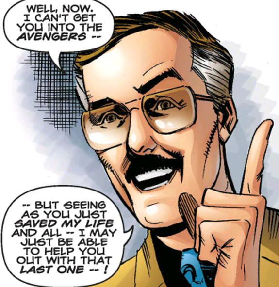 Pretty much all superhero comics exist because they saved Stan Lee's life at some point.