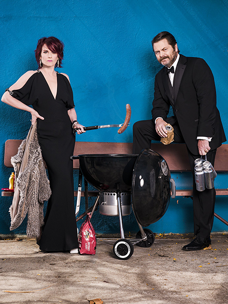 Megan Mullally and Nick Offerman: Summer of 69
