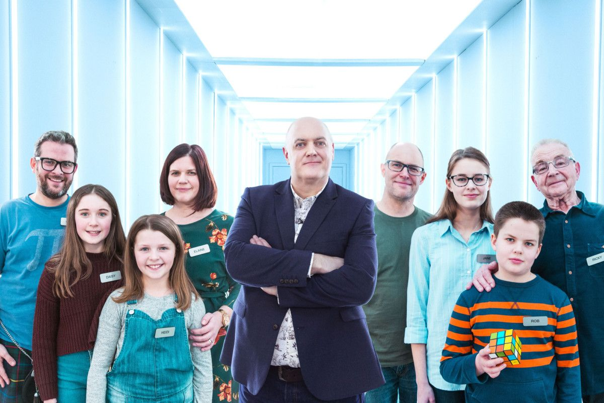 The Family Brain Games - Label1/BBC Two