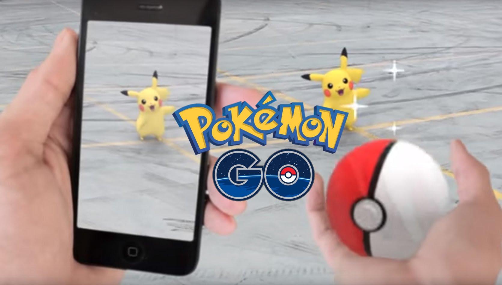 The new craze, Pokemon Go.