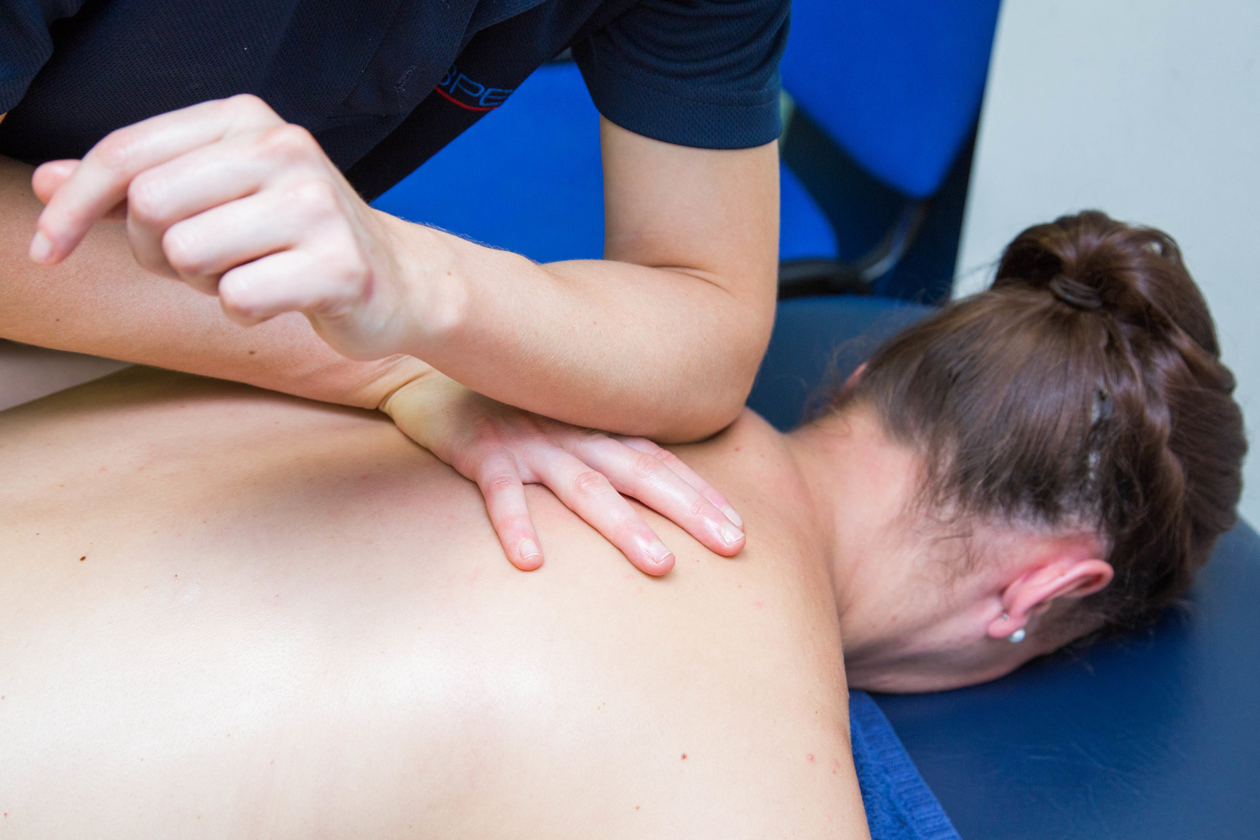 We will support your change in riding position with sports massage therapy