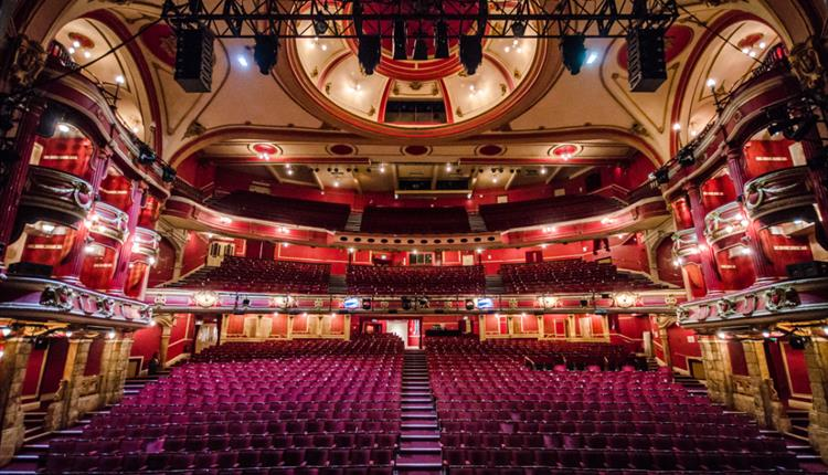 Bristol Hippodrome theatre, with great West End productions.