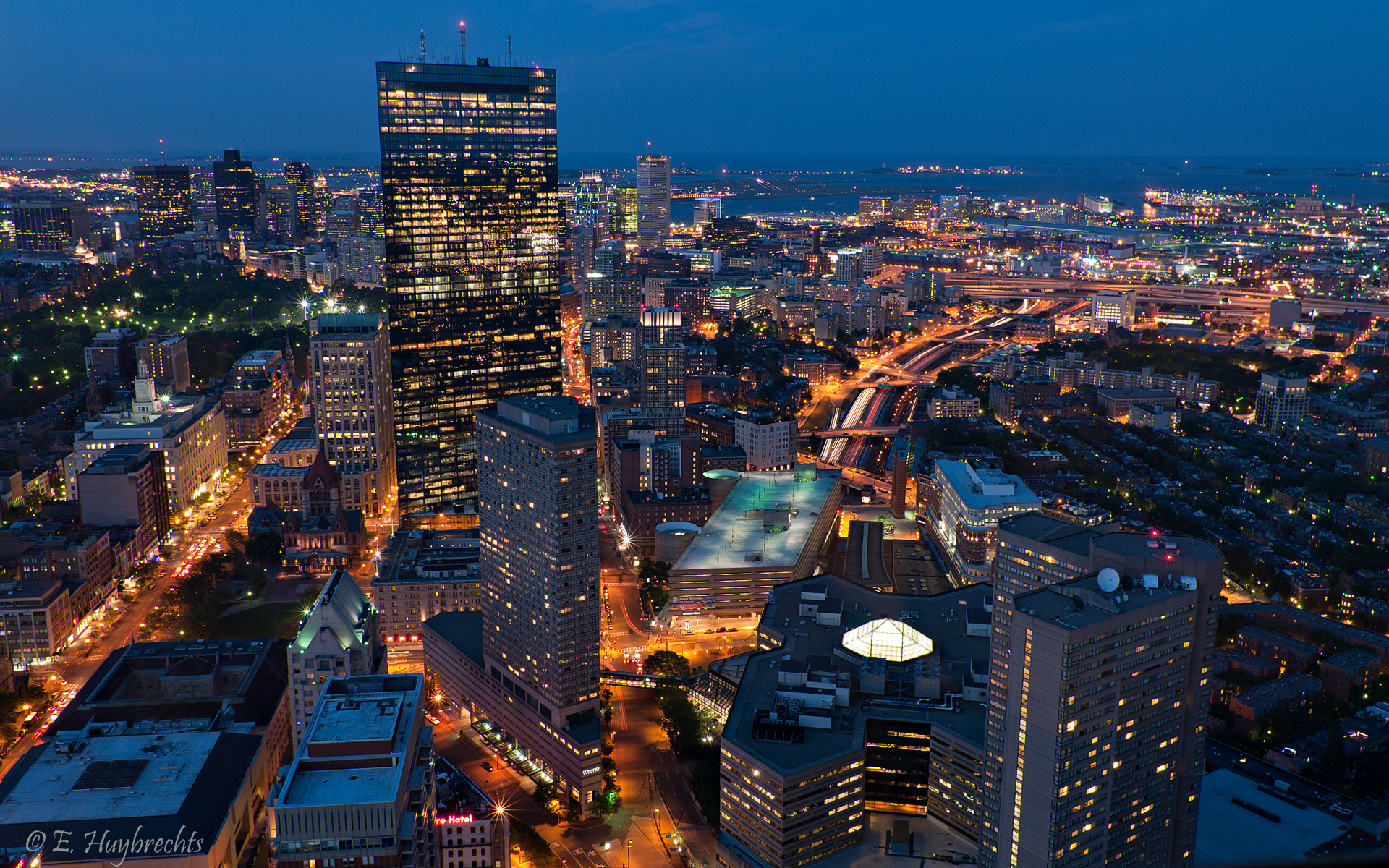 Boston � l'heure bleue - Blue Hour Boston