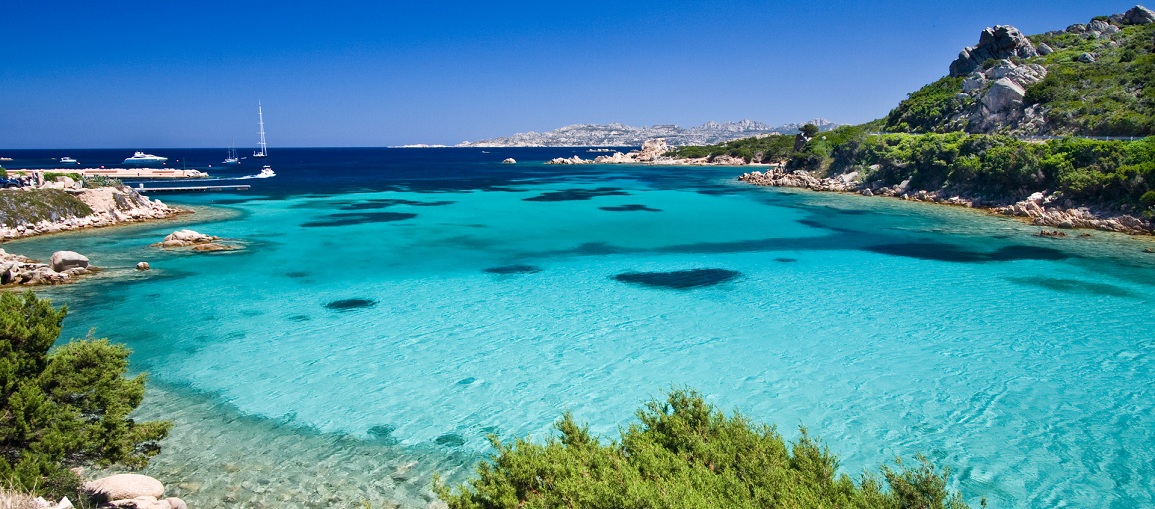 Sardegna in the Mediterrannean Sea, Italy