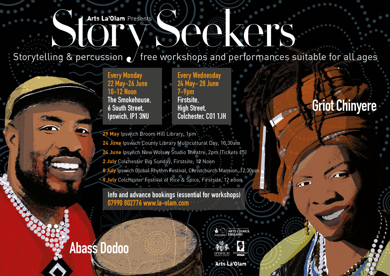 StorySeekers Poster