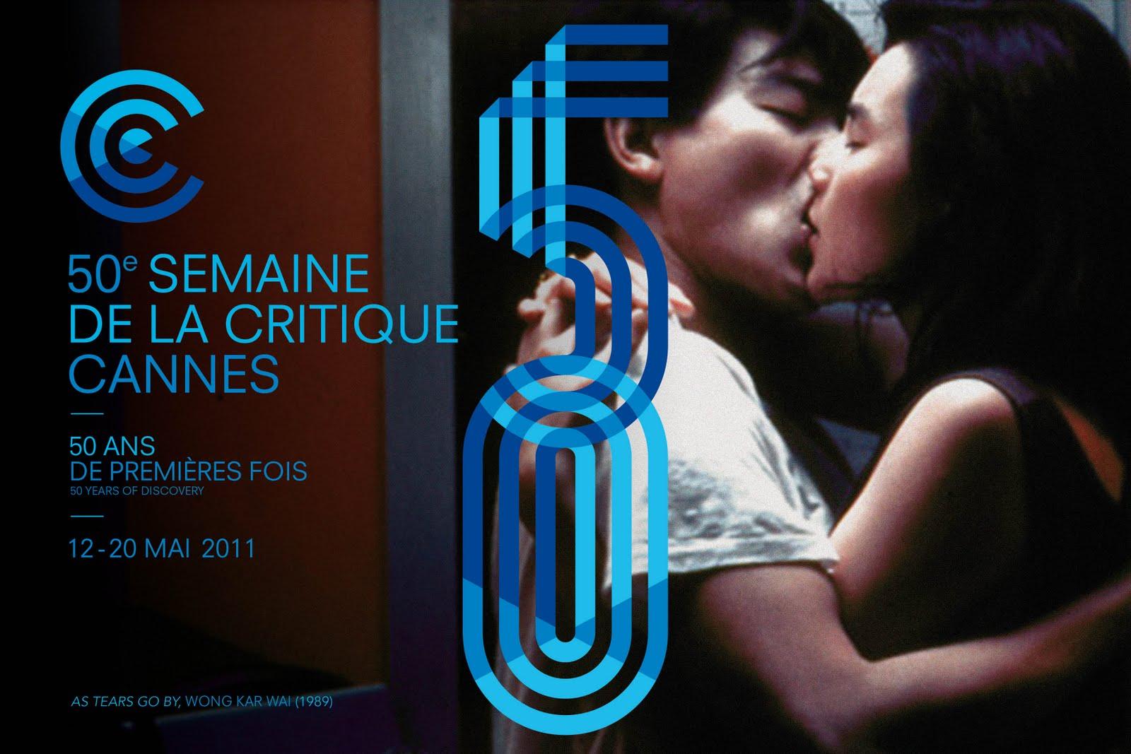 2011年戛纳影评人周50周年海报,致敬了王家卫处女作《旺角卡门》。王家卫即是从戛纳影评人周第一次进入世界影坛视野。