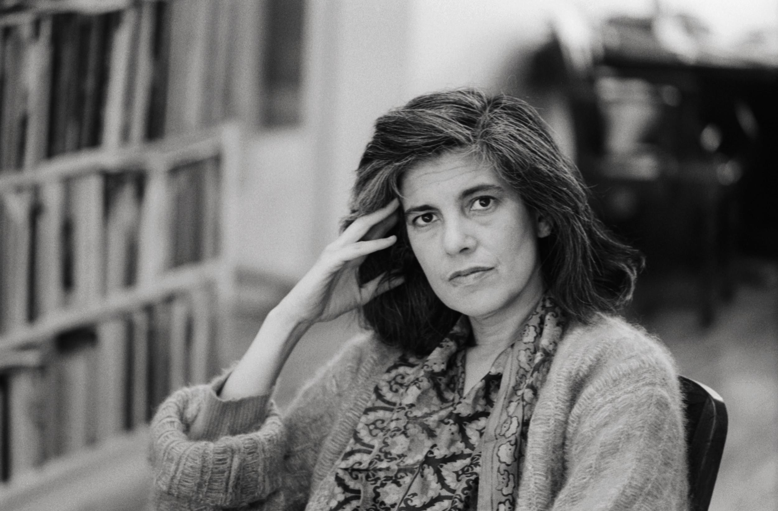 美国文化评论家、小说家苏珊·桑塔格